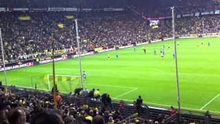 2:2 ? Borussia Dortmund vs. Hoffenheim -SÜDTRIBÜNE-