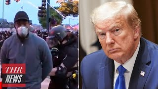 """CNN Reporter Arrested at Minneapolis Protest, Taylor Swift Rips Trump's """"Shooting"""" Tweet   THR News"""