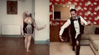 Saturday Night Quarantine Salsa Social (distancing) Marc Anthony - Lo Que Te Di