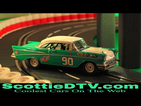 1957 Chevrolet Carrera Digital 132 Slot Car ScottieDTV International Raceway