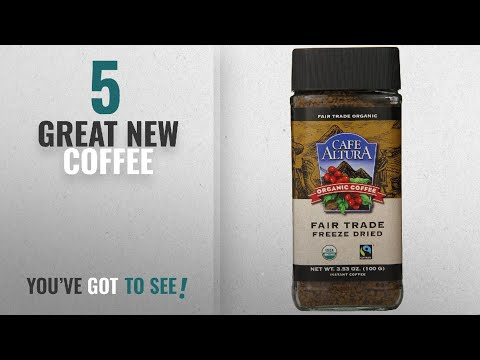 Top 10 Cafe Altura Coffee [2018]: Cafe Altura Freeze Dried Instant Organic Coffee, 3.53 Ounce (Pack