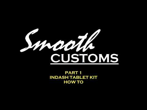 How to Make A Tablet Dash Slider Kit pt.1