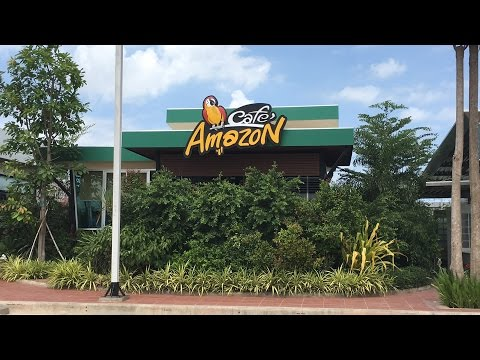 Amazing Place at Amazon Cafe PTT Station, Phnom Penh Cambodia Video 2016 - Youtube