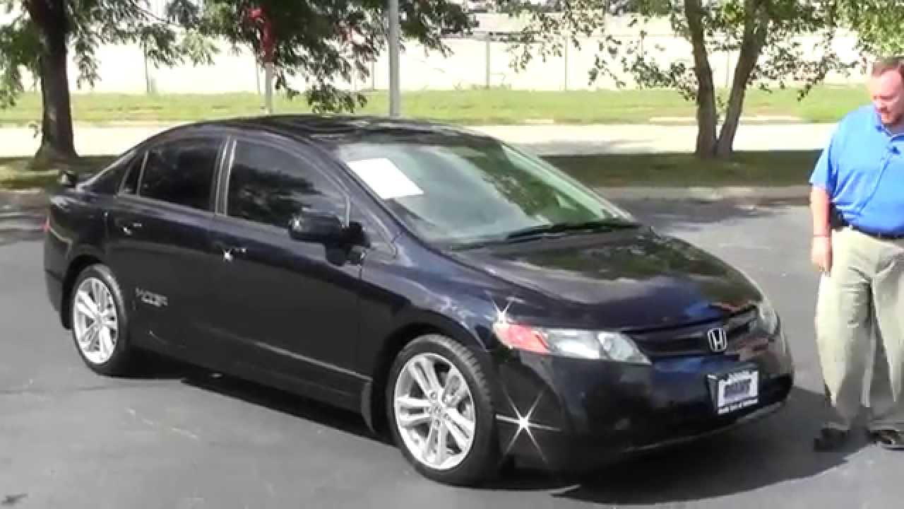 Honda Dealers Nj >> Used 2008 Honda Civic Si For Sale At Honda Cars Of Bellevue An
