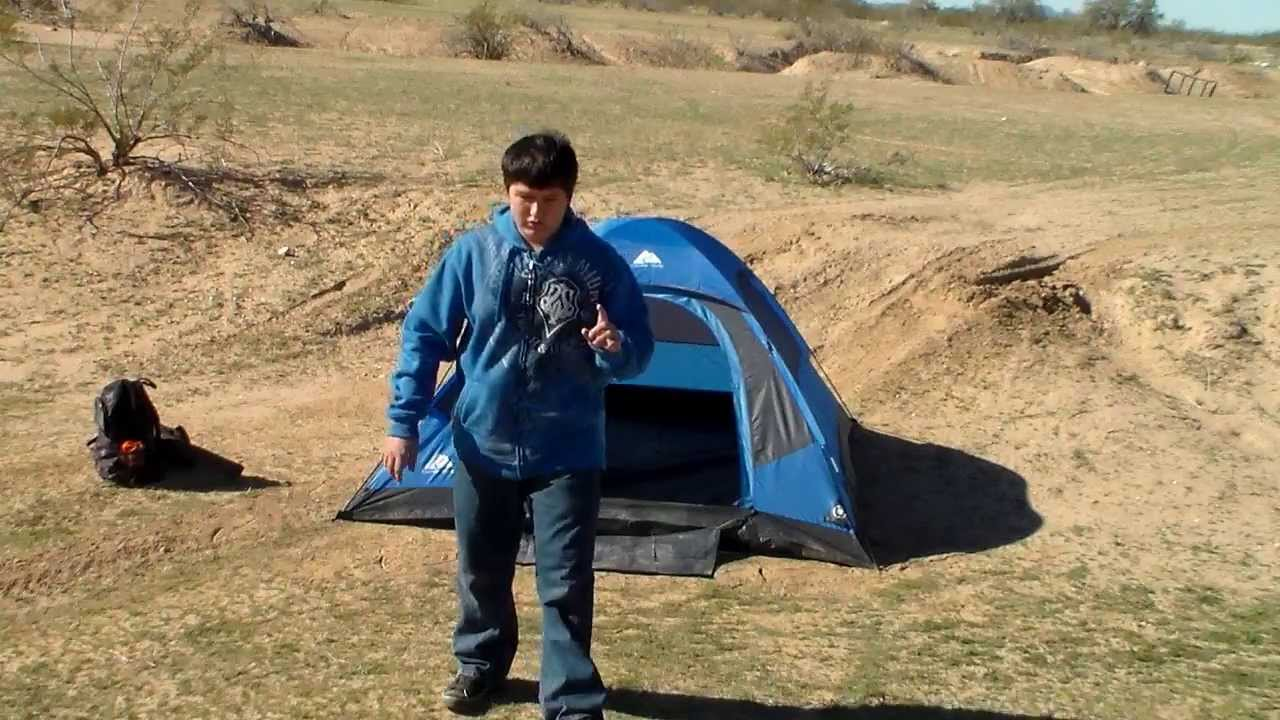 & Ozark trail tent - YouTube