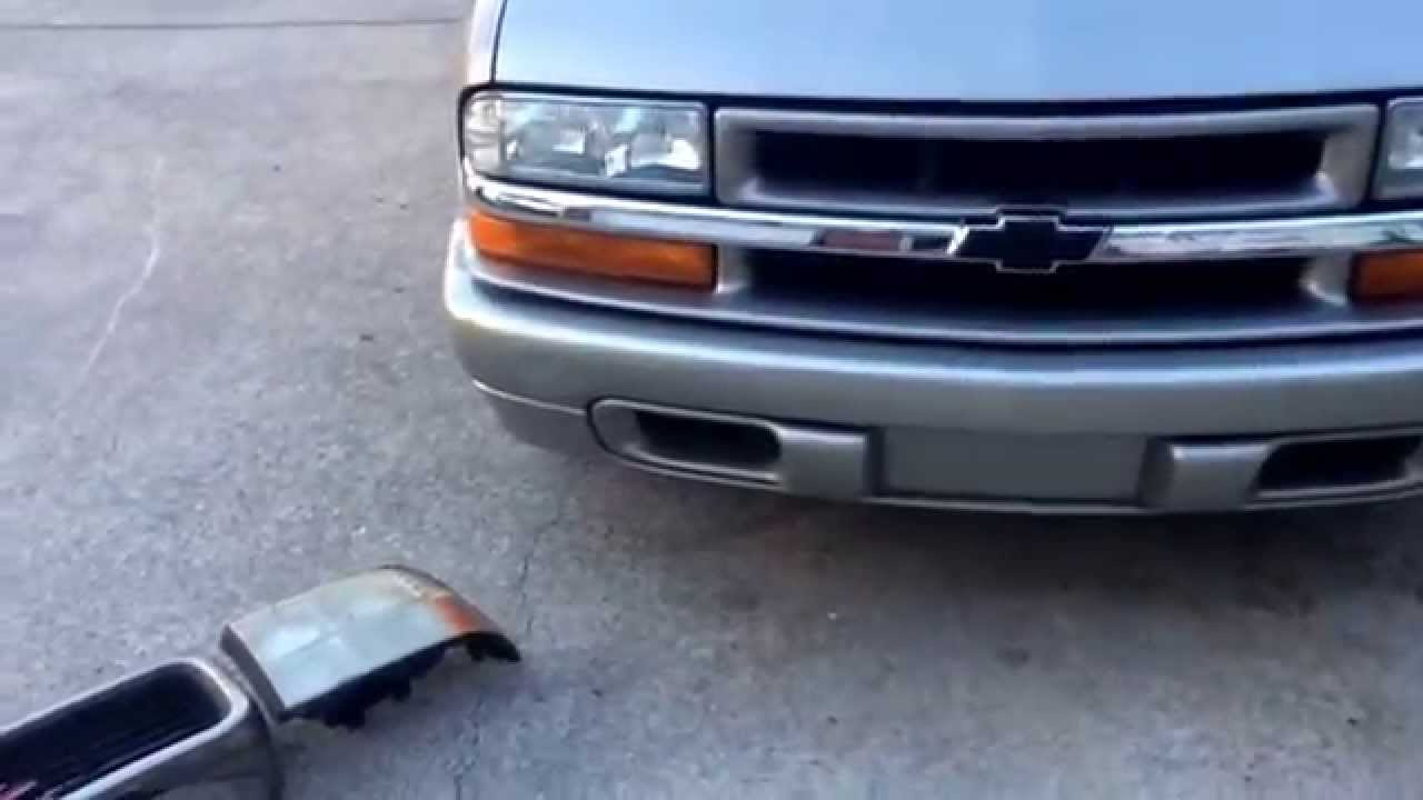 medium resolution of chevy s10 to gmc sonoma front end swap