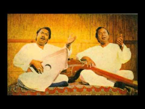 Ustad Nazakat Ali & Ustad  Salamat Ali - Raag  Bilaskhani Barwa  Radio Pakistan, Lahore
