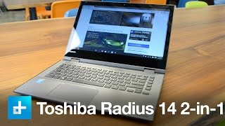 Toshiba Radius 14 2-in-1 laptop: Hands-on review