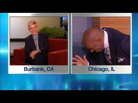 Steve Harvey Almost Blows His Cover