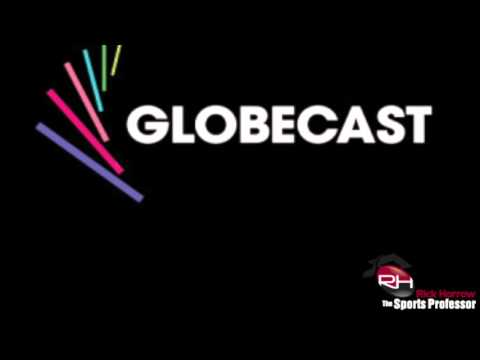 Global television revenues – – here and across the pond, Globecast 10 20 15