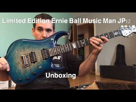 Unboxing my Limited Edition Ernie Ball Music Man JP12.