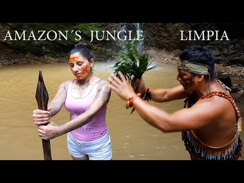 AMAZON SHUAR, Part 2, ASMR LIMPIA, SPIRITUAL CLEANSING, CUENCA, pembersihan spiritual, indian barber