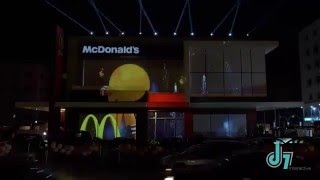 3D Mapping Projection   McDonald Amman