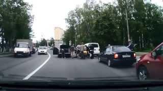 ВелоДТП-5 Подборка аварий велосипедистов