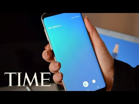 Thumbnail: Watch Samsung's Galaxy S8 Live Reveal: Bigger Screen, VR, Bixby & More | TIME