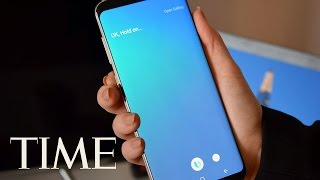 Watch Samsung's Galaxy S8 Live Reveal: Bigger Screen, VR, Bixby & More | TIME thumbnail