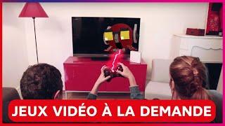 Venez découvrir les Jeux vidéo à la Demande de SFR !