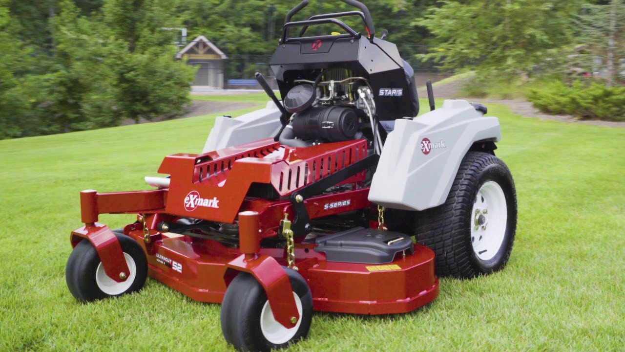 Introducing Staris: The Revolutionary Stand-On Mower from Exmark