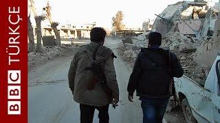 Kobani: Savaşın yıktığı kentten görüntüler - BBC TÜRKÇE