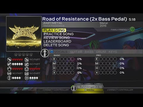 """Rock Band: Custom Song """"Road Of Resistance"""" (Available For Download For All Consoles)"""
