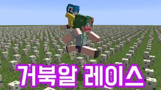 거북알 달리기 [마인크래프트]