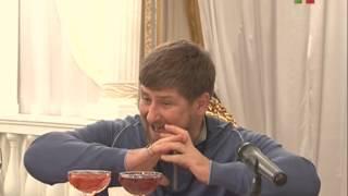 Ramzan Kadyrov on Grozny TV