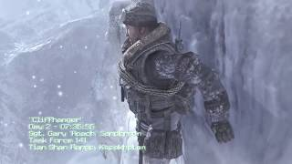 "Call of Duty MW2 Campaign - Mission 3 ""Cliffhanger"""