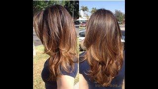 видео Лесенка на средние волосы + фото