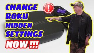 ROKU TUTORIAL | CHANGE THESE HIDDEN ROKU SETTINGS !!!
