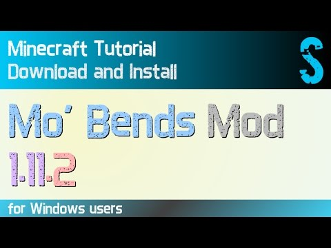 MO'BENDS MOD 1.11.2 Minecraft - How To Download And Install [like Animated Player] (with Forge)
