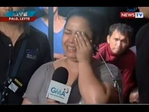 "Jiggy Manicad and Love Añover report on Yolanda devastation in Leyte on ""State of the Nation"""