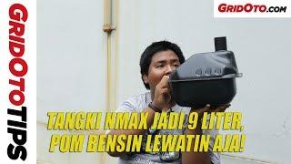 Review Tangki Bensin Yamaha NMAX Kapasitas 9 Liter | GridOto Tips
