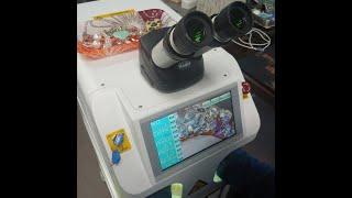 레이져땜기 쥬얼리땜기계 파워레이저 ( 초소형 레이저 용접기 )