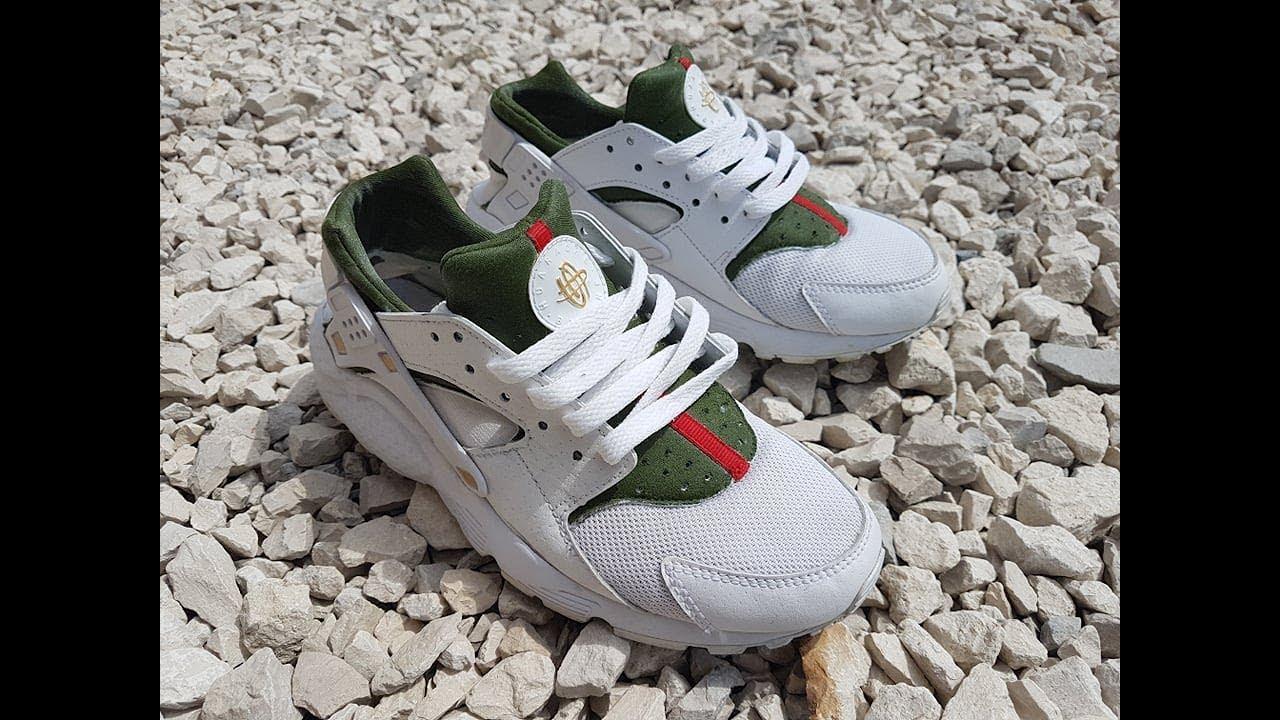 2c33aeff874b3 Nike Huarache - Gucci Custom - YouTube