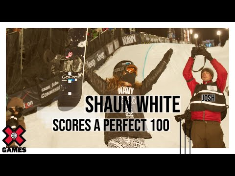 Get Shaun White's Perfect 100 Score - Winter X Games Pics