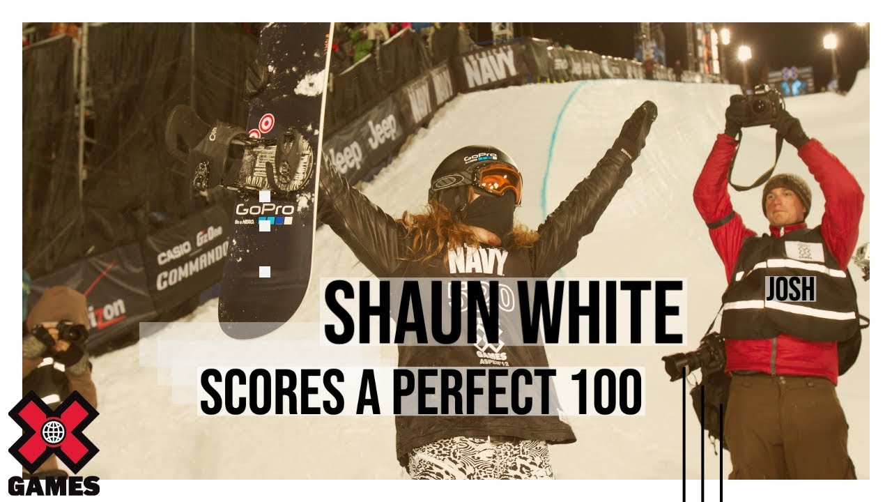 Shaun White's Perfect 100 Score - Winter X Games #1