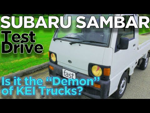 "KEI Truck Test Drive: Subaru Sambar, Is It The ""Demon"" Of Kei Trucks?"