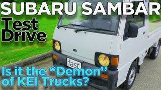 "KEI Truck Test Drive: Subaru Sambar, is it the ""Demon"" of Kei Trucks?"