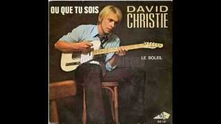 David CHRISTIE - où que tu sois - 1970