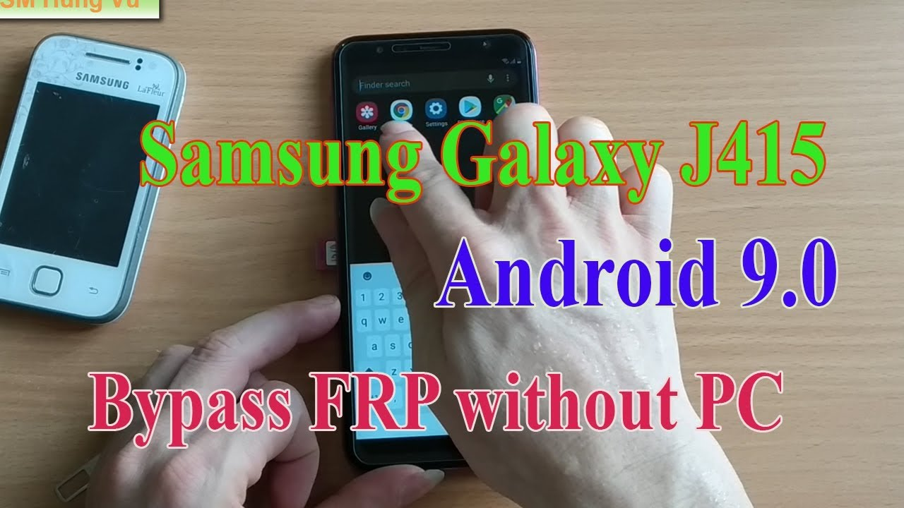 samsung J4+ SM-J415 FRP Bypass without PC Android 9 0 Sim Card Solution  by  GSM Hung Vu