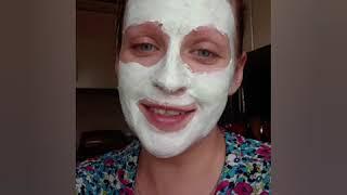 Очищающая маска для лица и мой уход за лицом