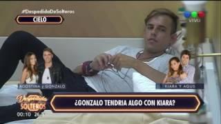¡Polémica conversación entre Gonzalo y Kiara! - Despedida de Solteros