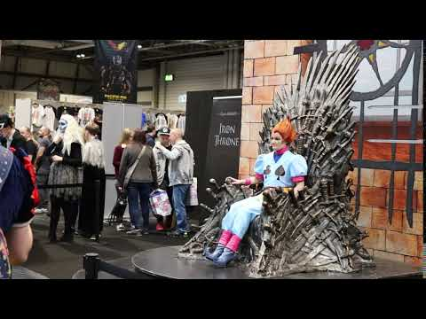 Birmingham Comic Con Games of Thrown
