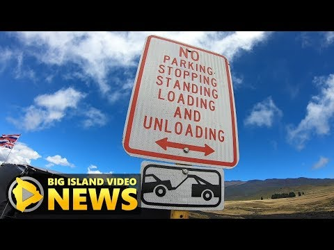 Mauna Kea: No Parking, Increased Traffic Stops Explained (Aug. 20, 2019)