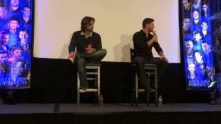 Jensen & Jared Panel Part 5 - Supernatural NJ Con 2013