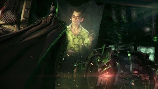 BATMAN: ARKHAM KNIGHT - Riddler Boss Fight | ALL Riddles Solved