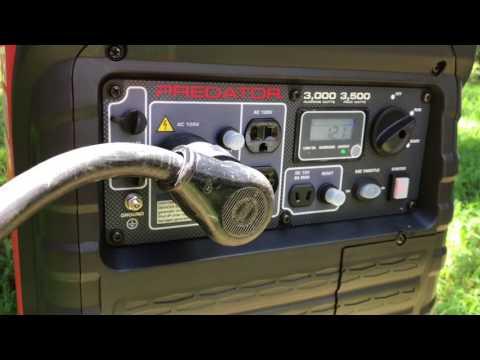 Harbor Freight Predator 3500 Watt Generator Test