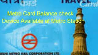 Check metro card balance,online recharge and top up of metro card, final step of metro card recharge