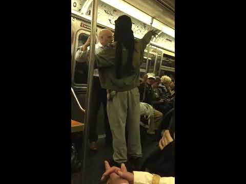 NYC subway argument May 15, 2017