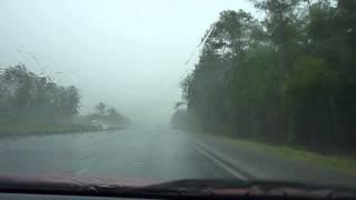 Regnvejr i USA